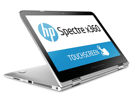 HP Spectre x360 touchscreen laptop image