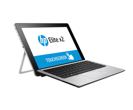 HP Elite X360 touchscreen laptop image