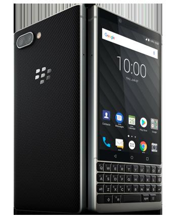 blackberry silver black