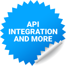 API integration and more