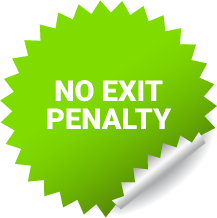 No exit penalty